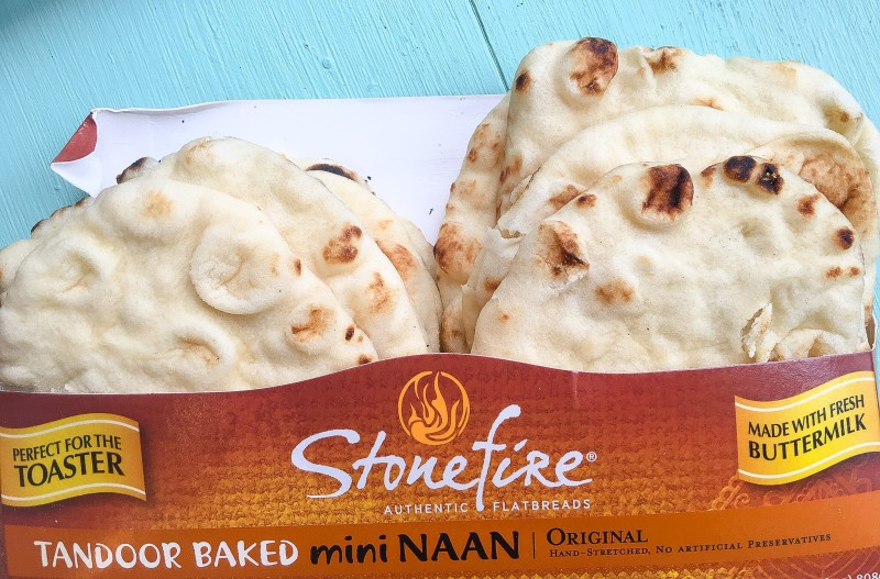 Stonefire Naan for Chicken Shawarma