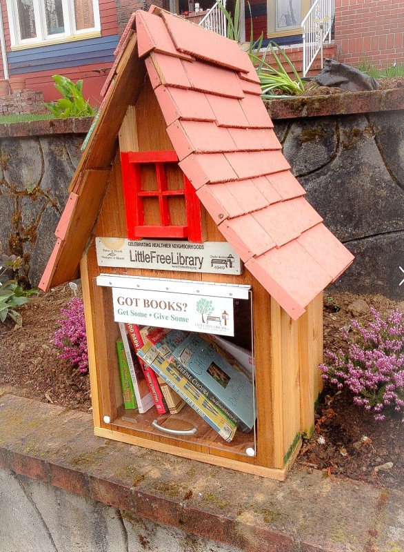 Little Free Library, Portland