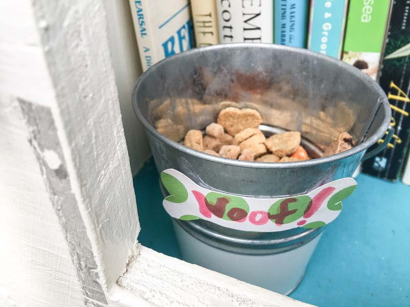 Dog Biscuits in Free Little Library
