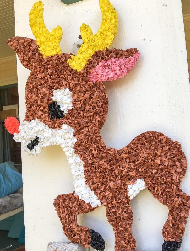 Rudolph on Porch