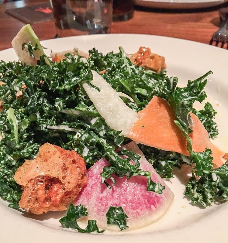 Best Kale Salad at Imperial, Portland