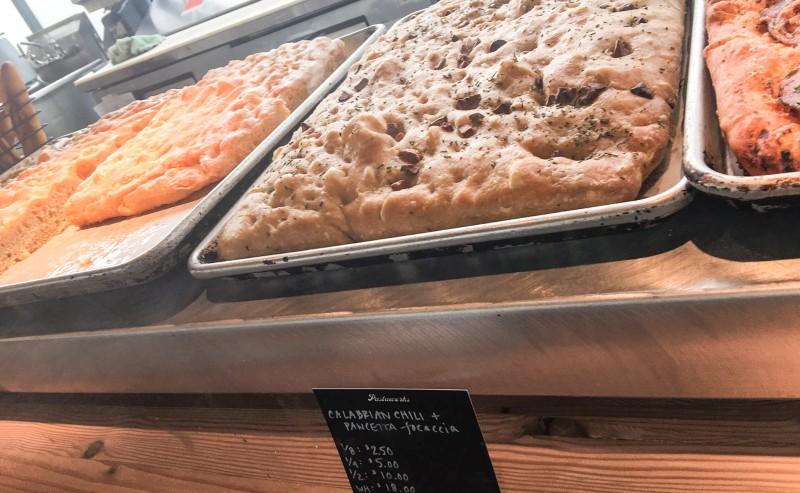 Focaccia at Pastaworks, Providore Fine Foods