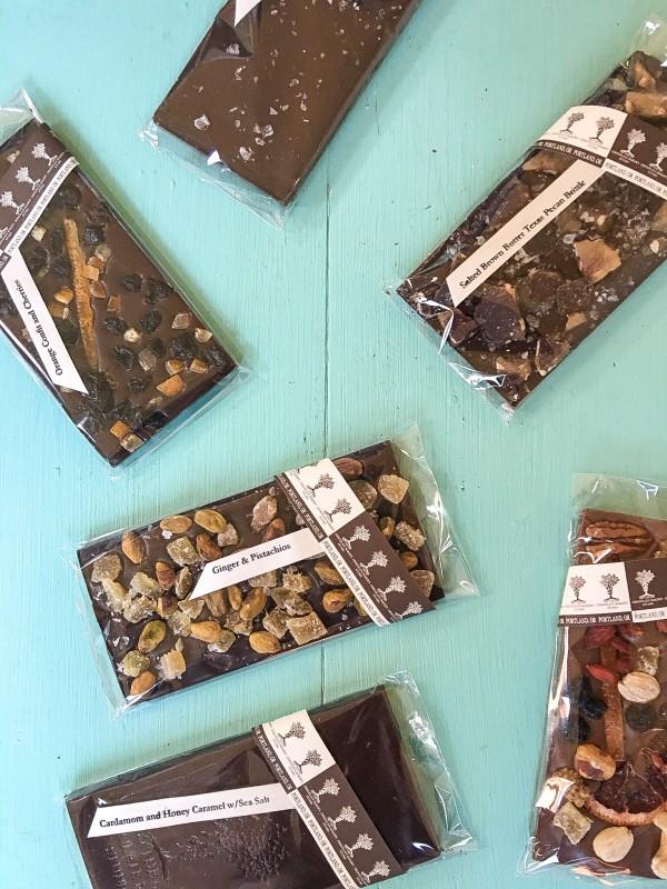 Chocolate Bars from The Chocolate Maker's Studio