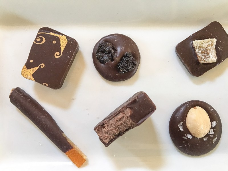 Assorted Chocolates from The Chocolate Maker's Studio, Portland