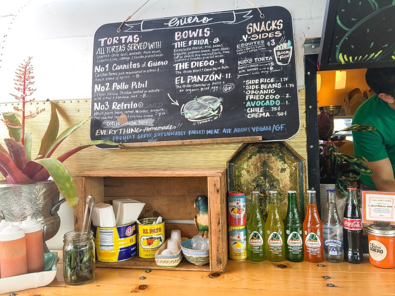 Guero Food Cart, Best of Portland Sandwiches