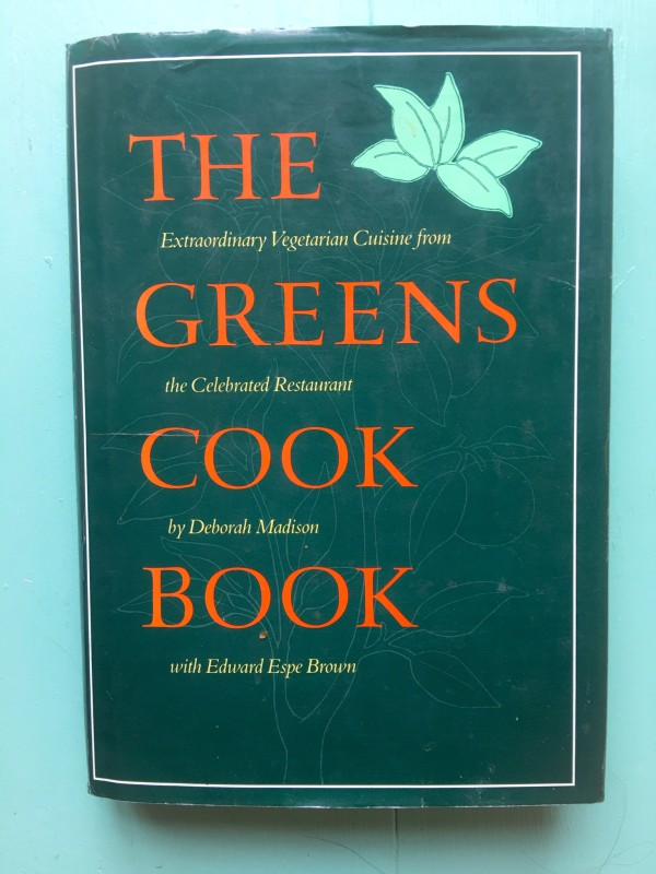 Greens Cook Book and Black Bean Chili