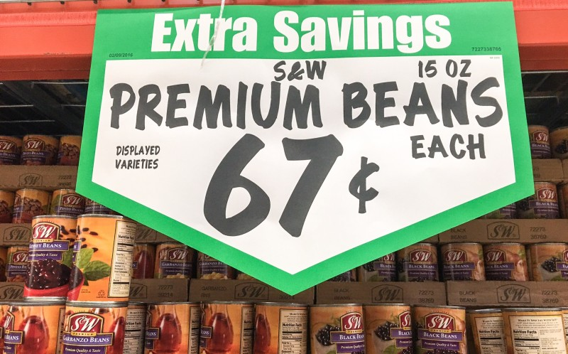 S and W Beans, Winco Portland