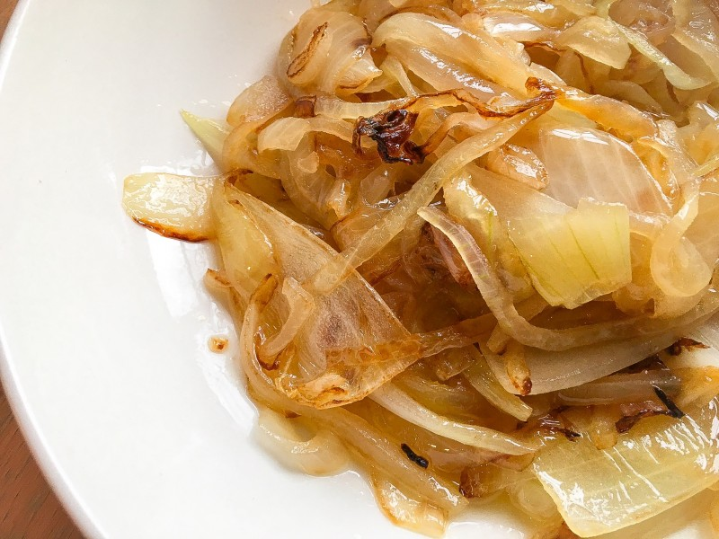 Caramelized Onions for Greek Lemon Chicken Soup