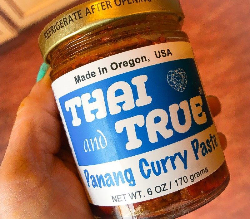Thai and True Panang Curry Paste for Kabocha Squash Soup
