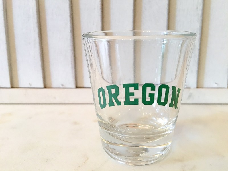 Portland Find Goodwill ORegon Shot Glass