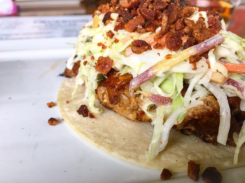 Portland Best Happy Hour, Taco at Cruzroom