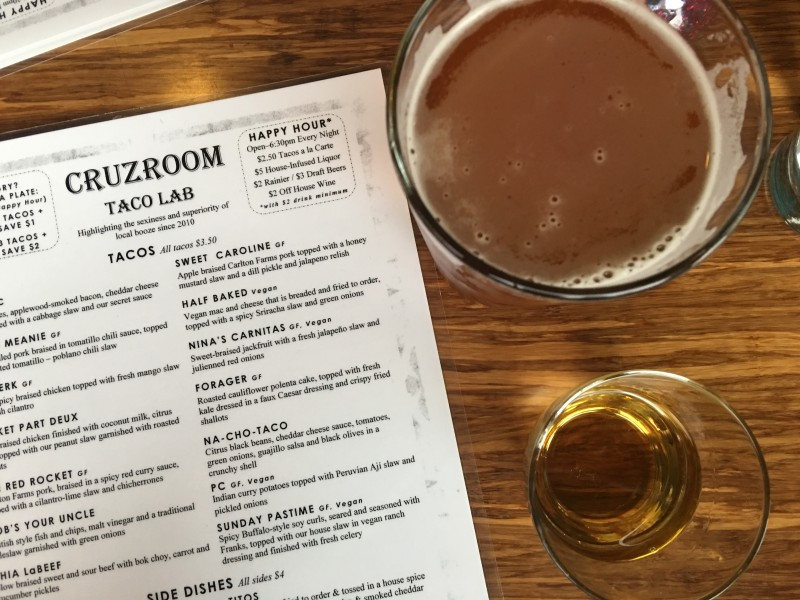 Cruzroom Taco Lab, Portland Best of Happy Hours