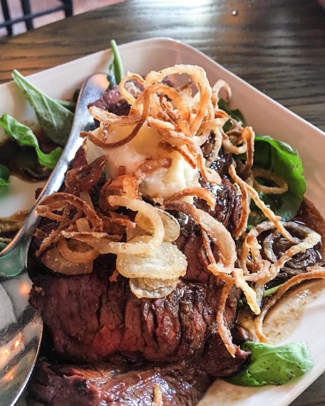 Hangar Steak, A.O.C. Los Angeles
