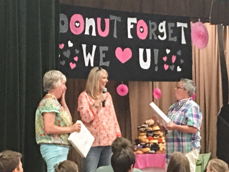 Donut Forget we love you Celebration School