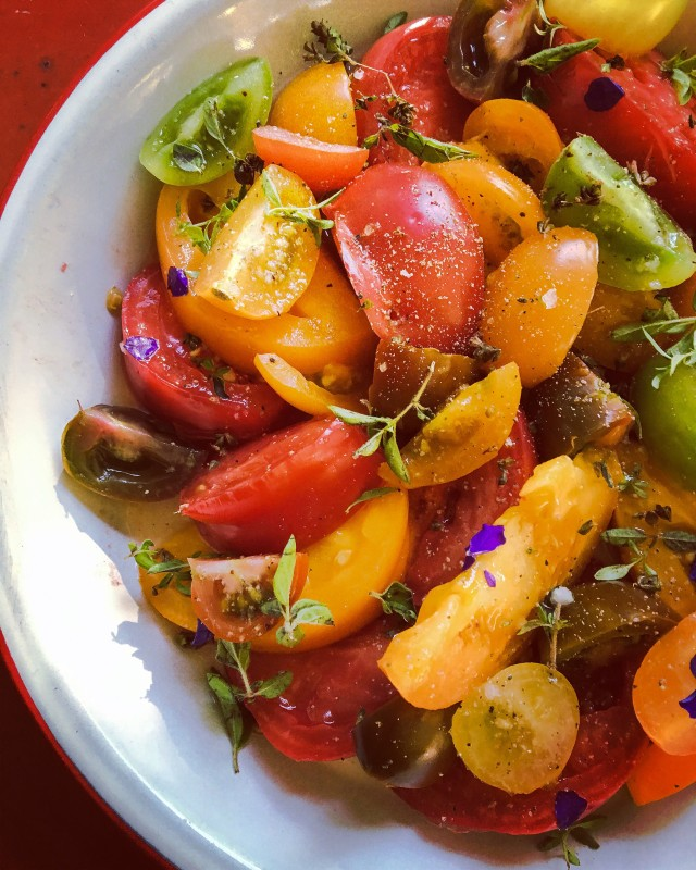 Tomato Salad from Farmers Market