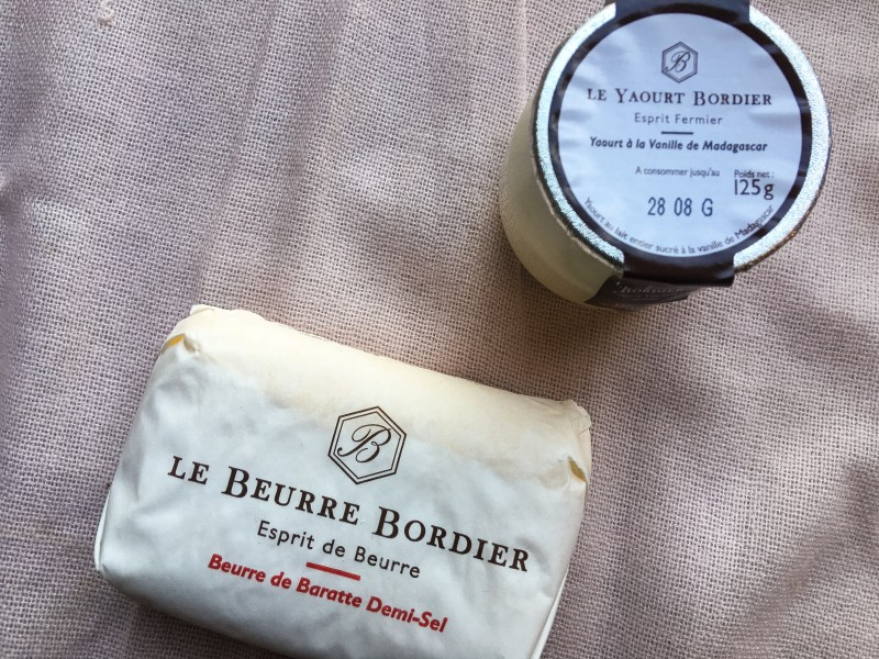 Bordier Butter and Yogurt, Paris
