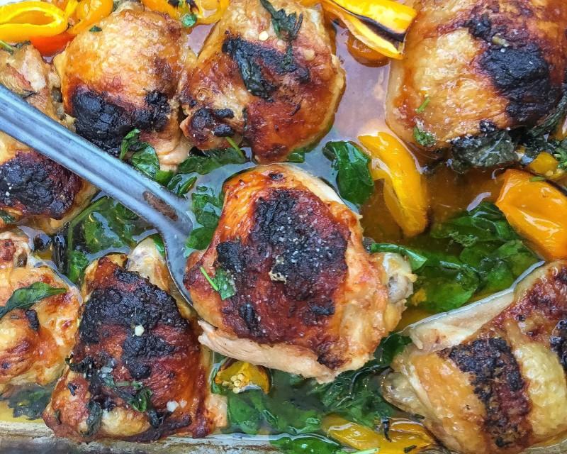 Vietnamese Sticky Chicken