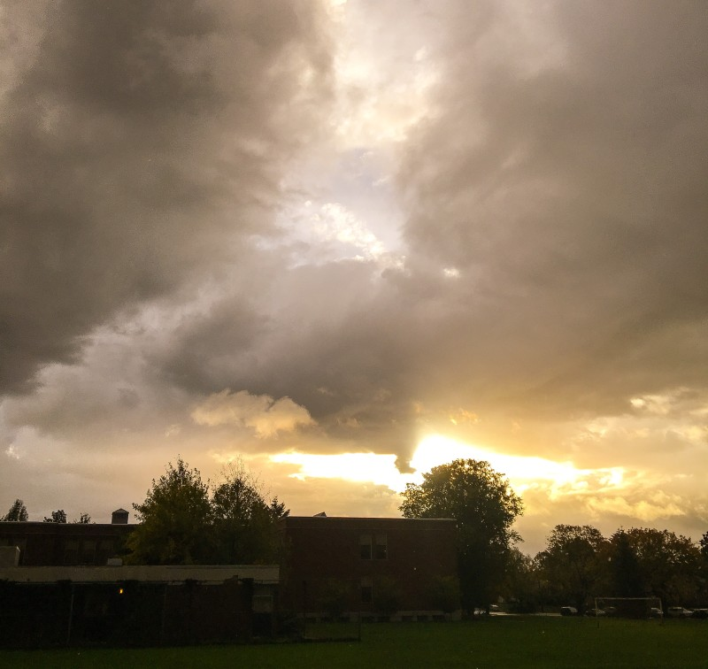 Fall Weather, Grant Park, Portland
