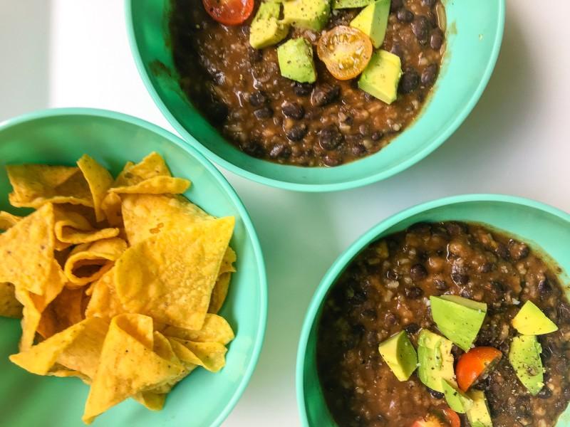 Black Bean SOup Portland