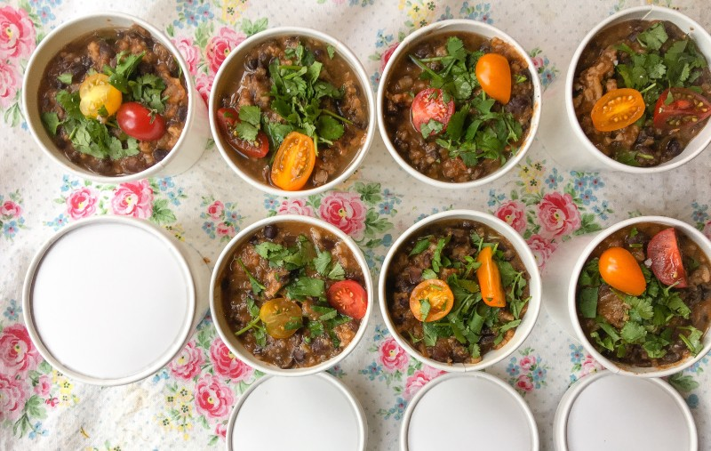Black Bean Soup to Go, Portland