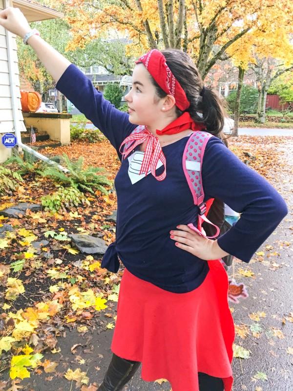 Charlotte as Super Girl