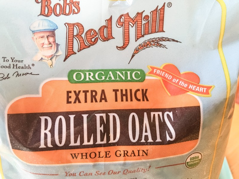 Bob's Red Mill Rolled Oats for Cookies