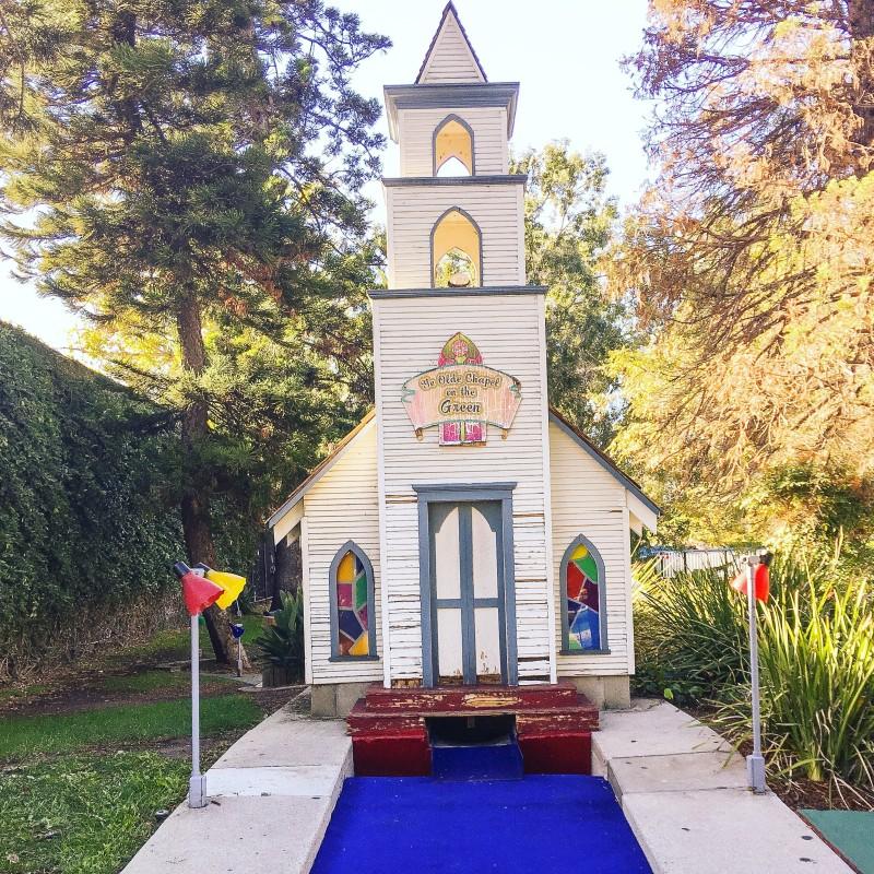 miniature golf, los angeles, Sherman Oaks
