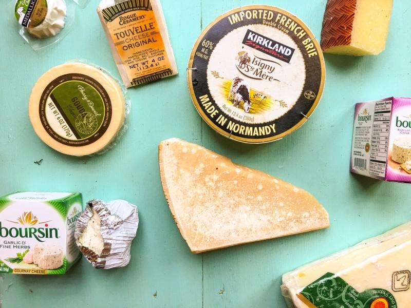 Cheese Selection Fridge Full