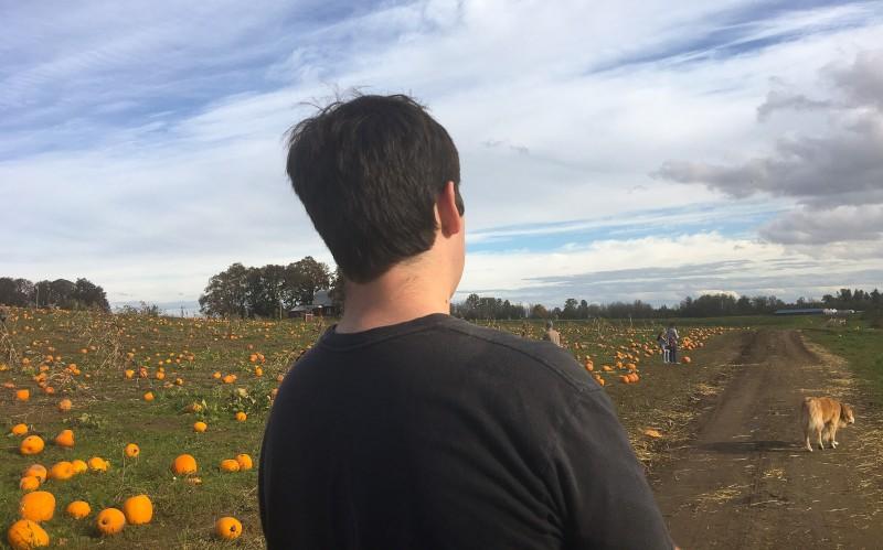 Oliver at Krugers Farm