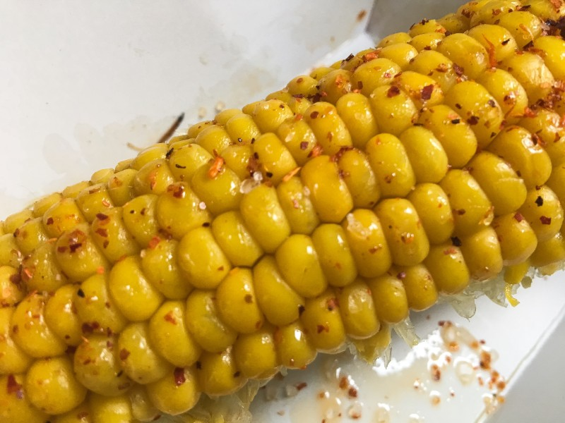 Corn at Krugers, Sauvie