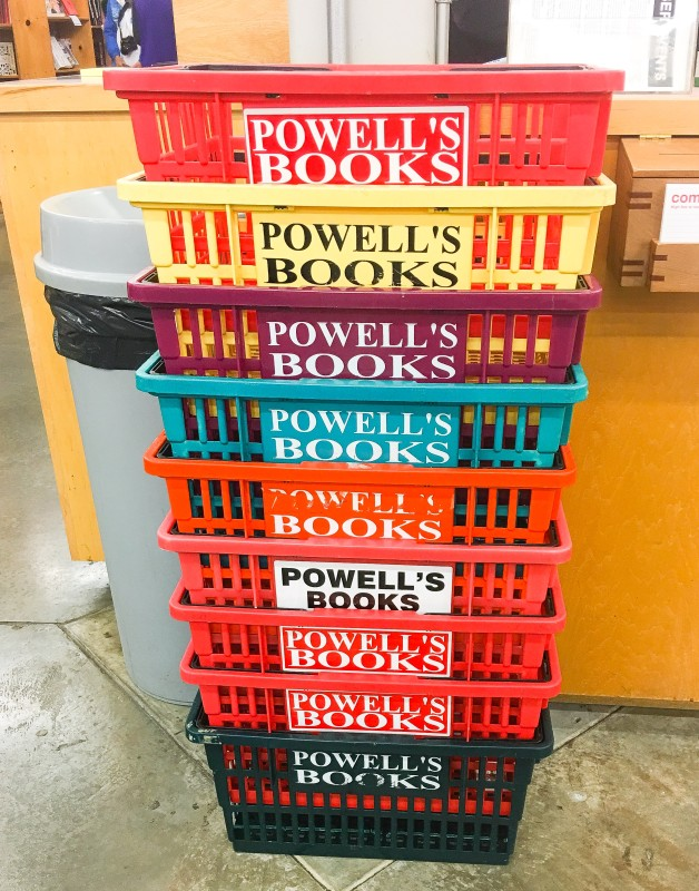 Powell's Book Carts, Portland