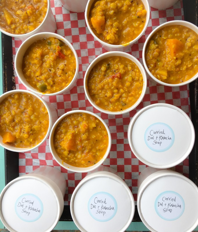Curried Dal and Kabocha Stew Soup