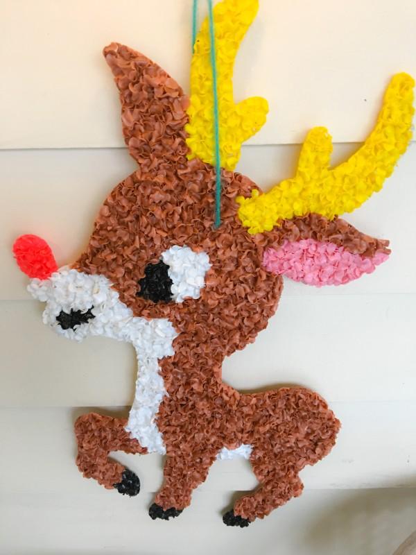 Vintage Rudolph, Front Porch
