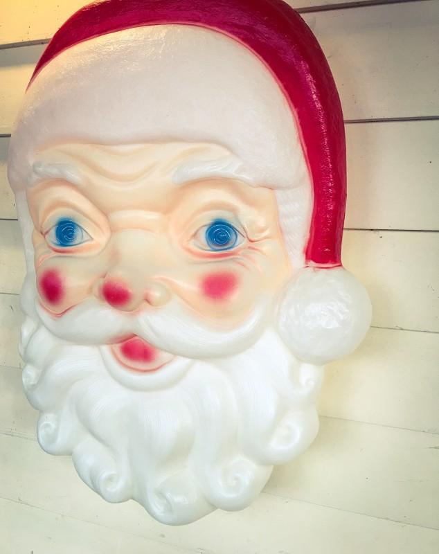 Vintage Santa, Front Porch