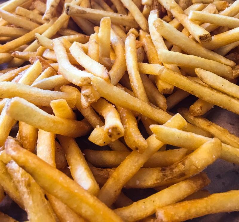 Fries at Little Big Burger, Portland