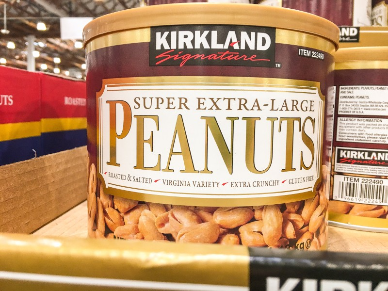 Kirkland Extra Large Peanuts at Costco