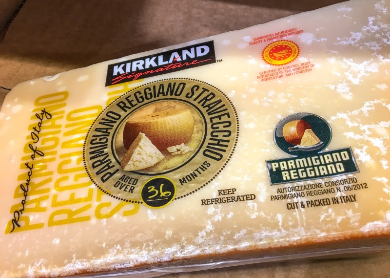 Costco Reggiano Wedge