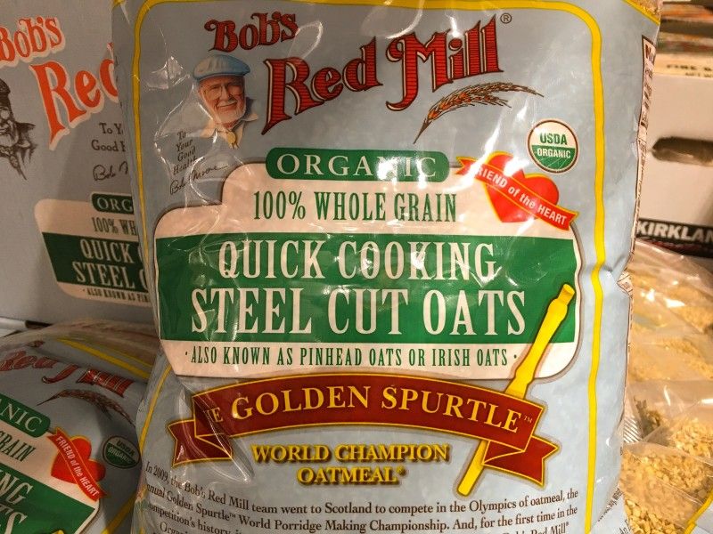 Costco Red Mill Steel oats