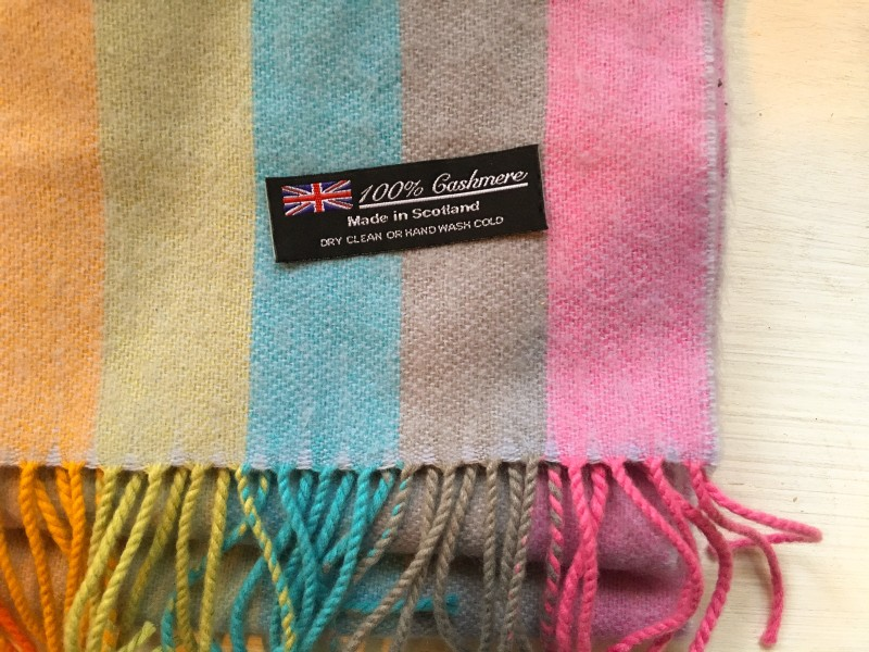Cashmere Scarf Portland Goodwill OUtlet Bins