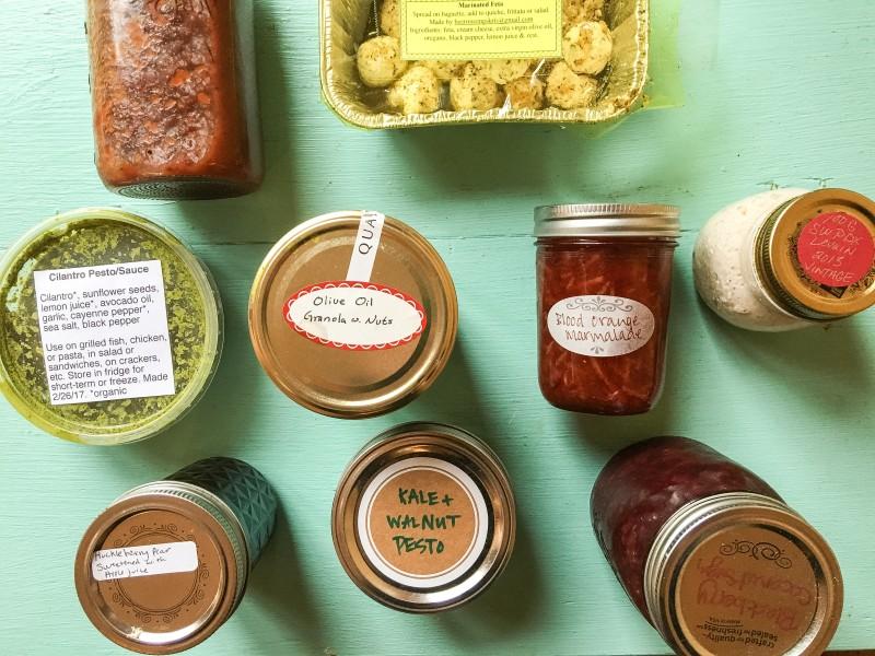 Portland PDX Food Swap - Assortment