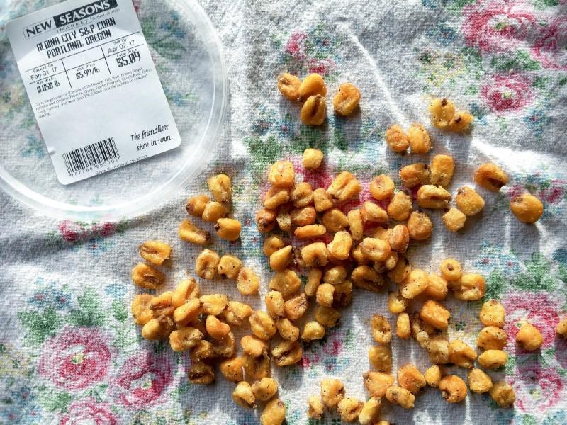 Corn Nuts from New Seasons, Albina City