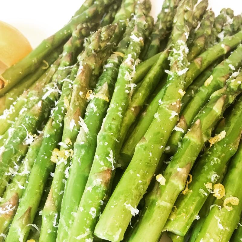 Asparagus with Truffle Oil