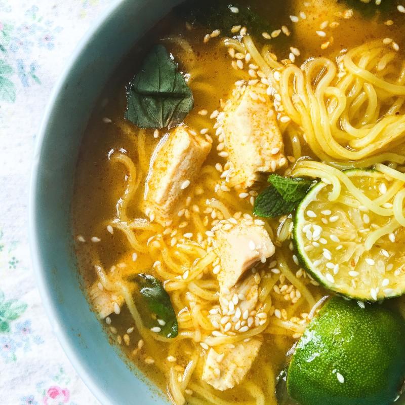 CHicken Soup with Ramen