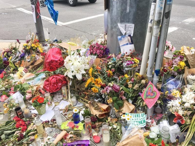 Trimet Stabbing MAX Memorial Portland