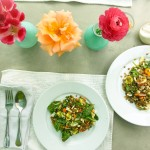 lentil and wheat berry salad