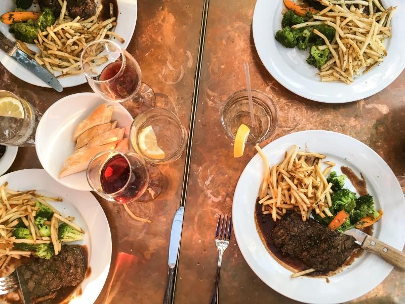 steak frites los angeles