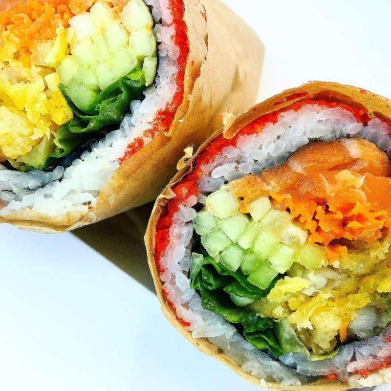 Sushr-rito Wasabi Sushi PDX