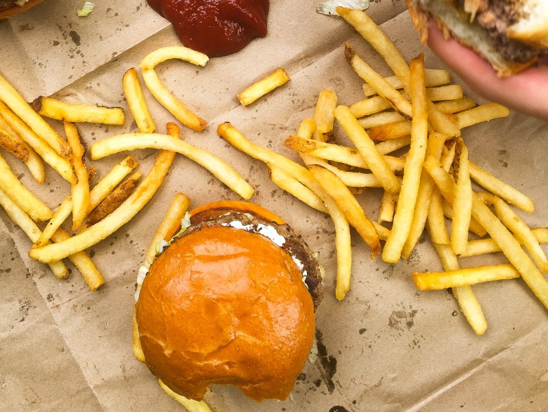 BUrgers at Little Big Burger PDX