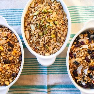 homade granolas for family reunion