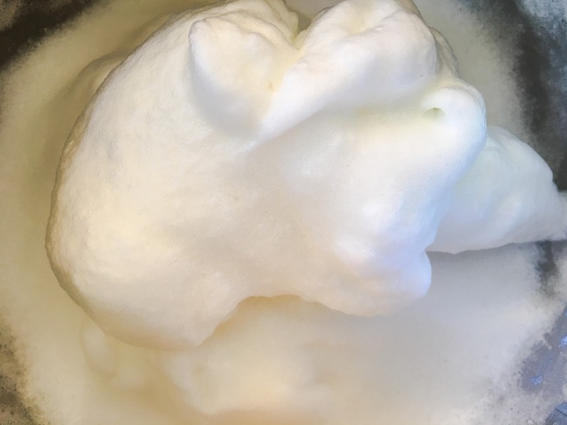 Egg Whites for Chocolate Mousse